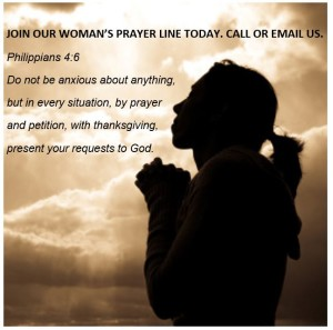 womens prayer line